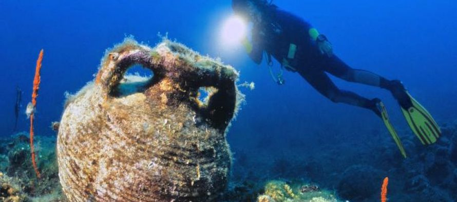 Underwater archaeology mission finds relics