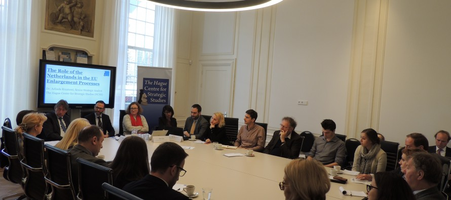 AIIS, EMinS and HCSS discuss Albania Serbia relations at the Hague