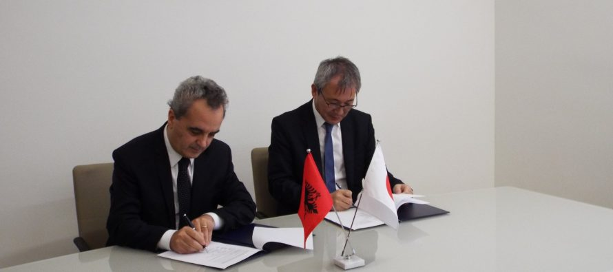 First Japanese language lab set up in Albania