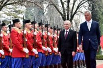 Albanian President Ilir Meta on official visit to Montenegro