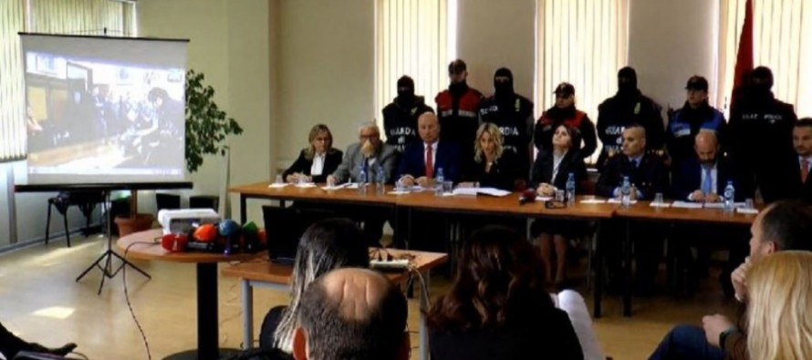 Joint Albanian-Italian operation cracks down on four criminal networks