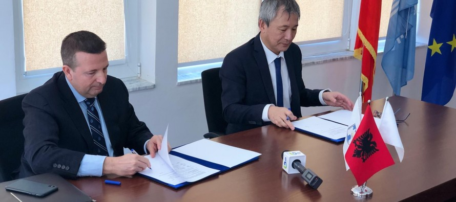 Japan helps increase safety at UNESCO town of Berat