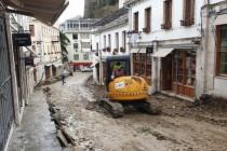 Reconstruction in Gjirokaster risk UNESCO expelling