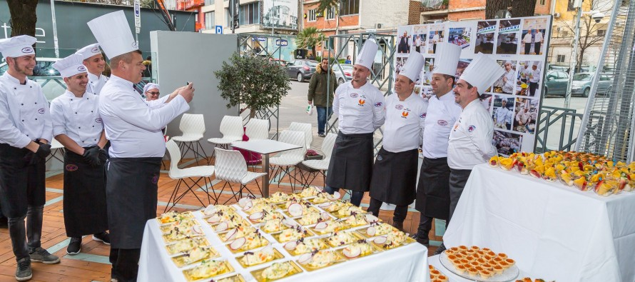 Russian Cuisine Tasted in 'Summer Day' in Tirana