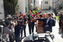 Opposition leader denies illegal party lobbying at prosecution