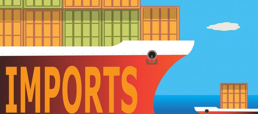 Decreased exports raise the trade deficit
