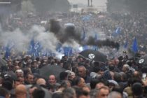 Thousands protest against Socialist gov't in Albania