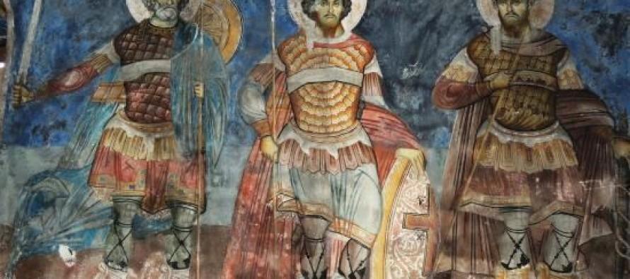 Church icons of Vlora monk David Selenicasi