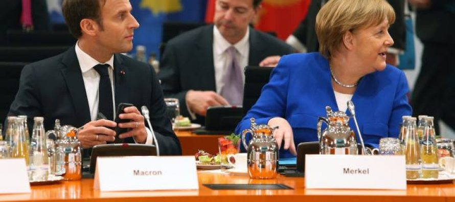 Macron and Merkel say EU enlargement is not in the horizon at Berlin summit
