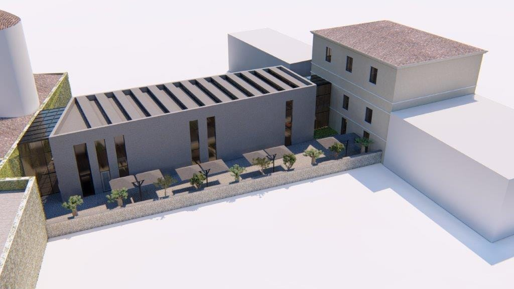 Architectural Design of the Franciscan Museum