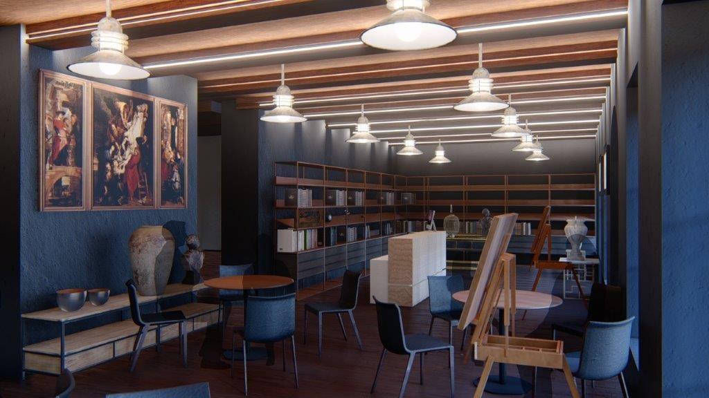 Interior Design of the Franciscan Museum