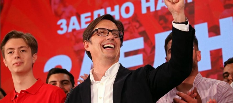 North Macedonia Albanians play defining role in Pendarovski's presidential win
