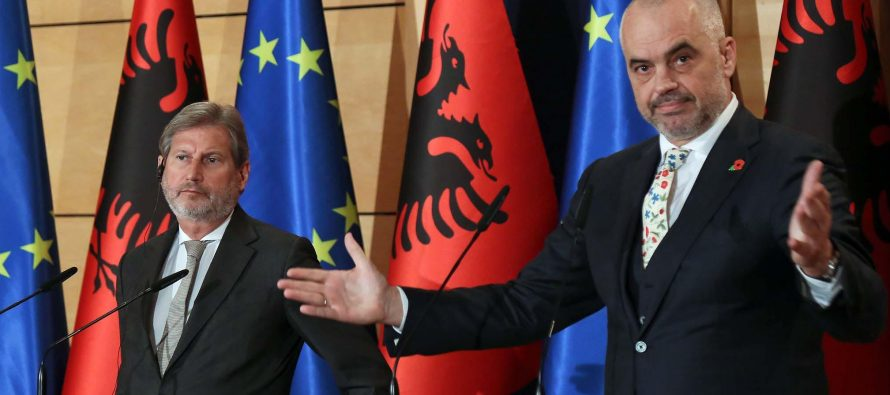 Austrian media says there will be no opening of negotiations for Albania in June