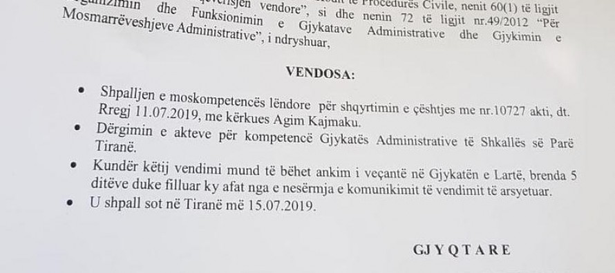Tirana, Durres courts reject elections