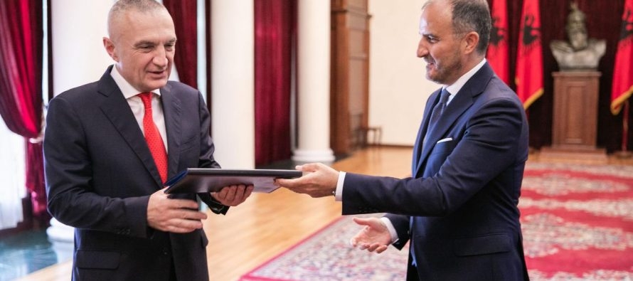 President and EU Ambassador to Albania exchange comments regarding local elections