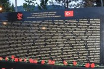 Albanian gov't erects memorial for Turkey's 2015 coup victims