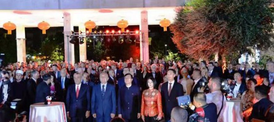 China celebrates 70th anniversary of the founding of the People's Republic of China