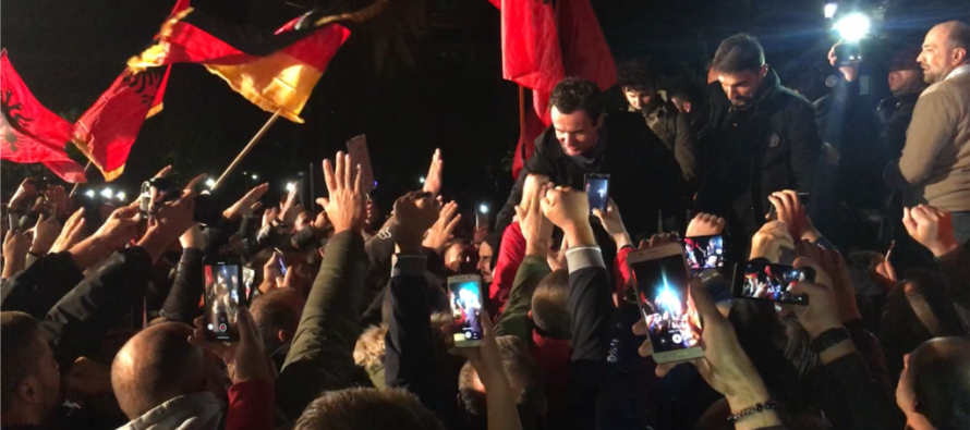 Opposition party Vetevendosje wins over Kosovo parliamentary elections