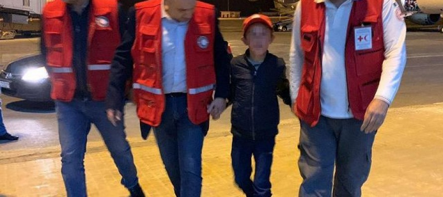 Albanian child rescued from Syrian refugee camp nightmare
