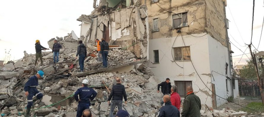 Deadly earthquake hits Albania, leaving at least 47 people dead and hundreds injured