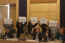 Protesters seek OSCE Ambassador's resignation during 'Media Development Forum'