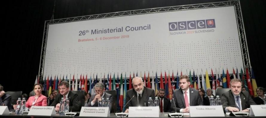 Albania takes over OSCE Presidency