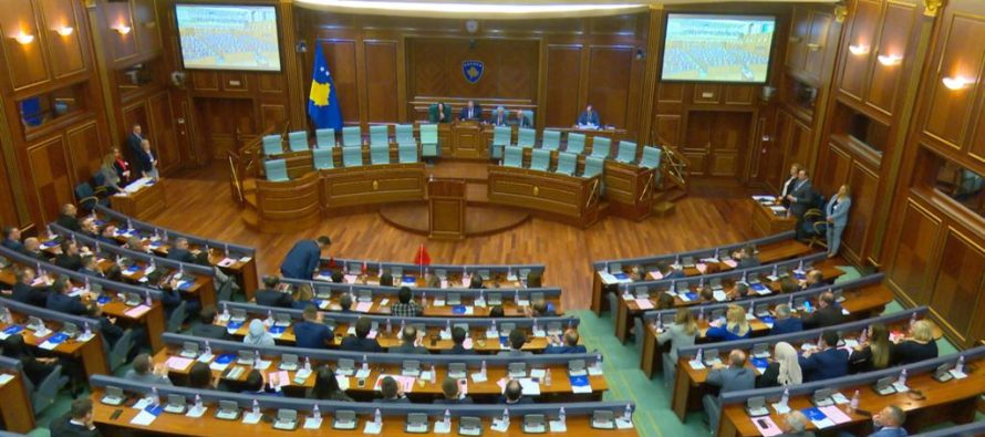 Kosovo elects new parliament chairman, while gov't establishment remains unclear