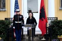 US Ambassador Yuri Kim presents credentials to President