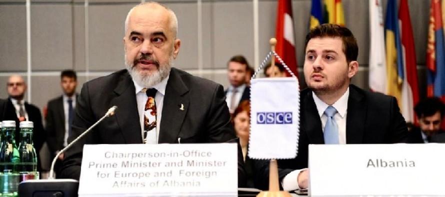 Albania officially takes over OSCE chairmanship