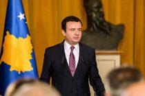 Kosovo's Prime Minister to EU Representative: No negotiations over border changes