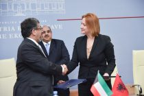 MFE signs agreement with Kuwaiti Fund for Arab Economic Development to finance rehabilitation of the Vlora River Road