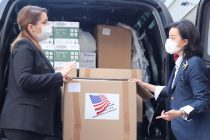 Coronavirus, US donates PPE  to Albania