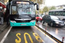 Public transport returns in Tirana