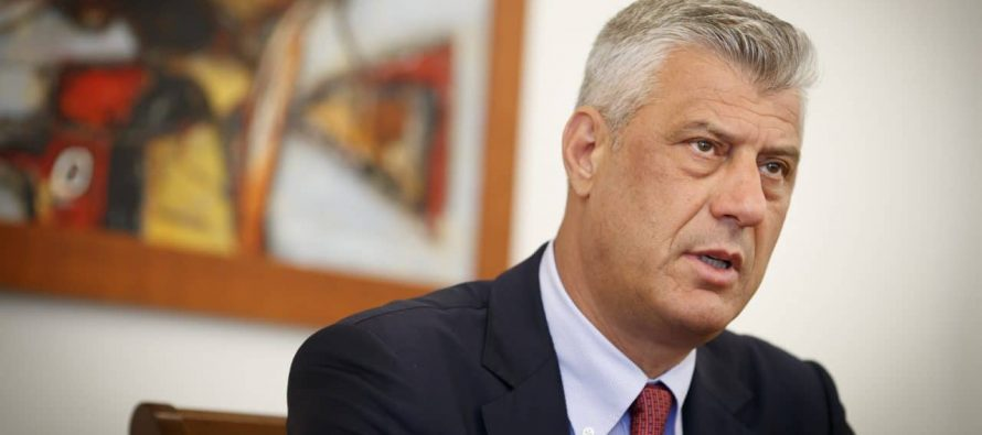 President Thaci: Kosovo has not been served justice for Serbia's genocide