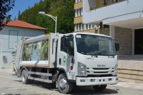 Japan donates waste collection truck & waste containers to Skrapar Municipality