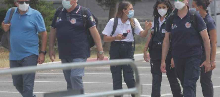 Italian doctors assist Albania in fight against COVID-19