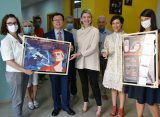 Chinese Embassy saves 44,000 film reels at Central State Film Archive