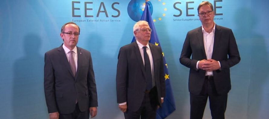 Kosovo & Serbia hold 2nd high-level meeting in Brussels