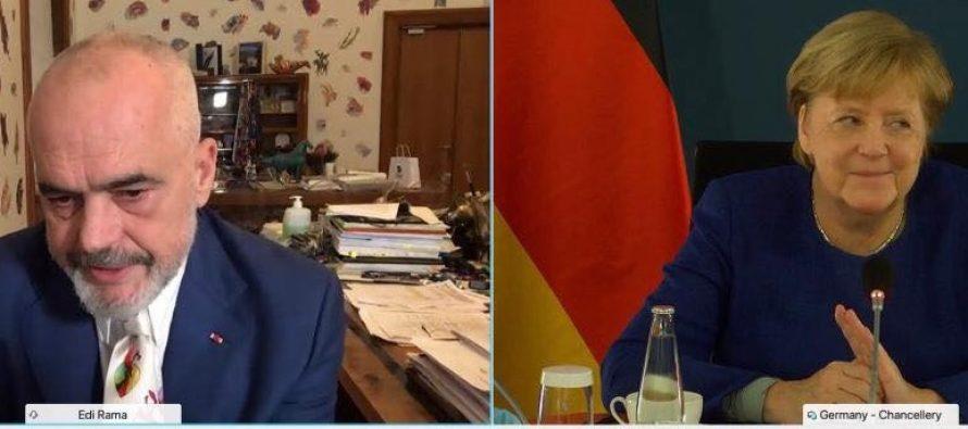Rama-Merkel talk focused on integration process reforms