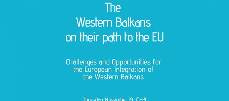 Tune in, Nov 19, 10 am: The Western Balkans on their path to the EU
