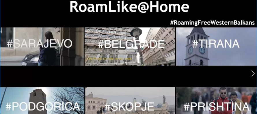 'ROAM LIKE AT HOME'     Stay connected in Western Balkans.