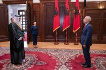 President Meta welcomes new Ambassador of Saudi Arabia, H.E Faisal Ghazi Ismail Hifzi